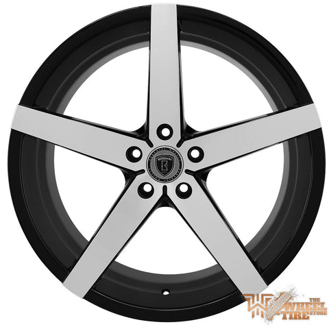 BORGHINI B35A Wheel in Black Machined (Set of 4)