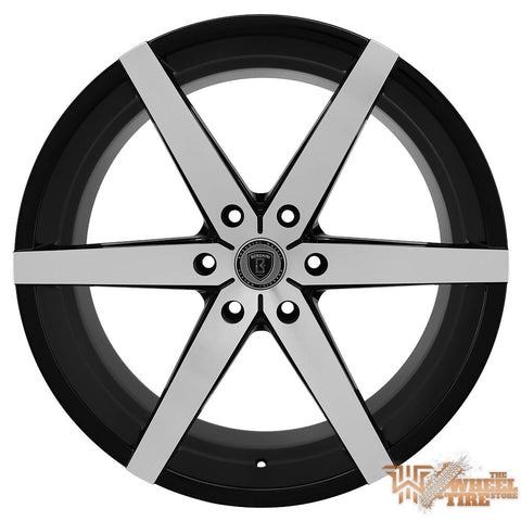 BORGHINI B35B Wheel in Black Machined (Set of 4)