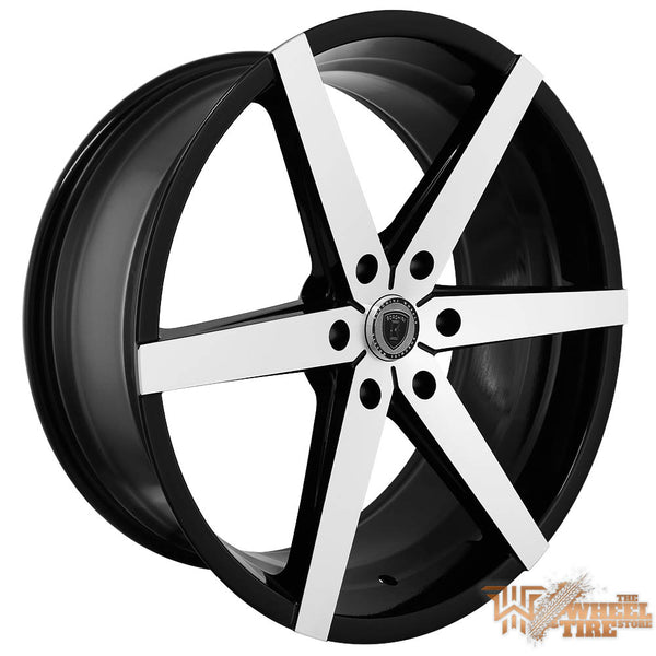 BORGHINI B35B Wheel in Black Machined