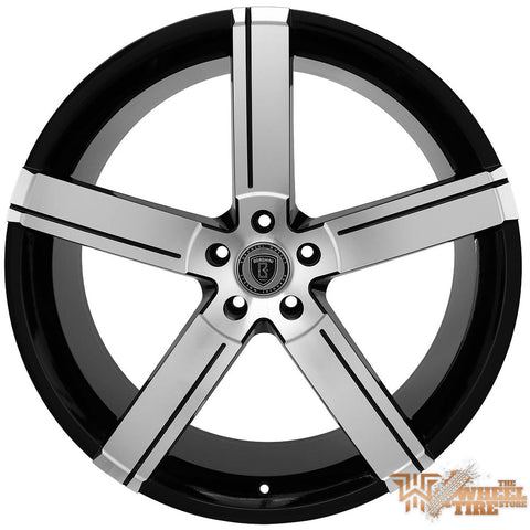 BORGHINI B39A Wheel in Black Machined Face (Set of 4)