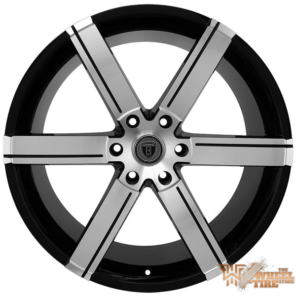 BORGHINI B39B Wheel in Black Machined Face (Set of 4)