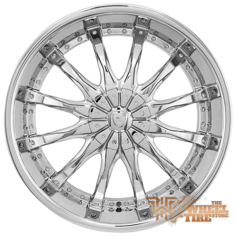 BORGHINI B8 Wheel in Chrome (Set of 4)