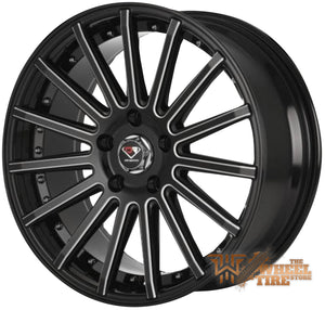 DCENTI Racing DCTL008 Wheel in Black Milled (Set of 4)
