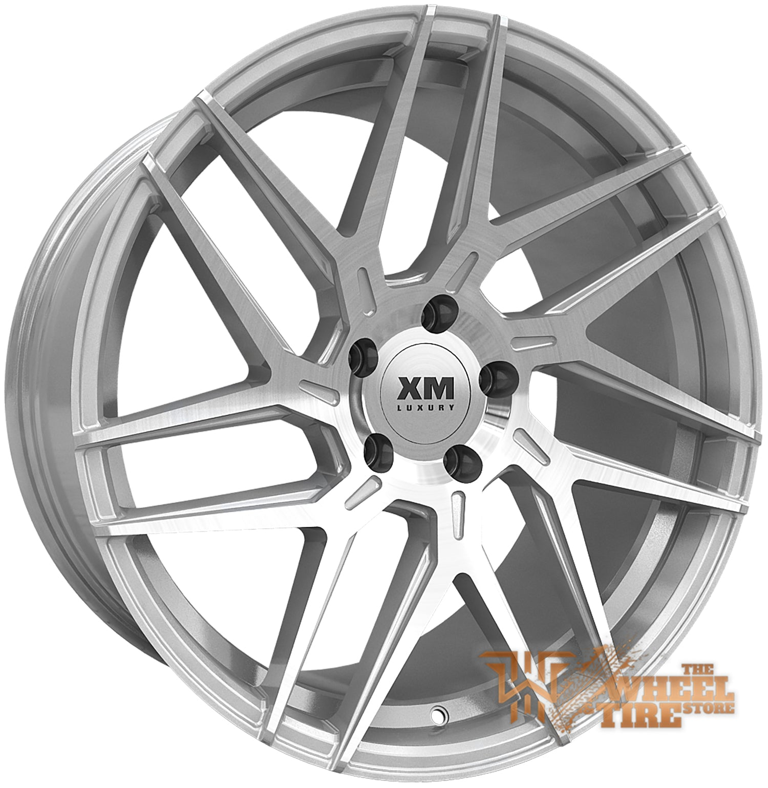 XM LUXURY XM-208 Wheel in Silver Machined Face (Set of 4)