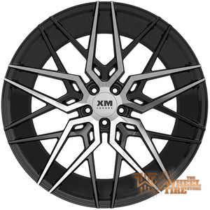 XM LUXURY XM-209 Wheel in Black Machined Face (Set of 4)