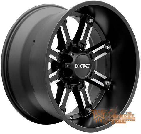 DCENTI DW970 Wheel in Black Machined (set of 4)