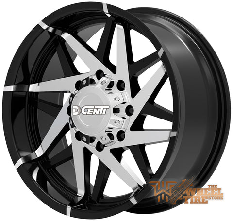 DCENTI DW99 Wheel in Black Machined (Set of 4)