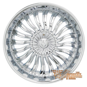 BORGHINI B24 Wheel in Chrome (Set of 4)
