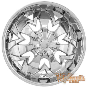HOYO H1S Wheels in Chrome (Set of 4)