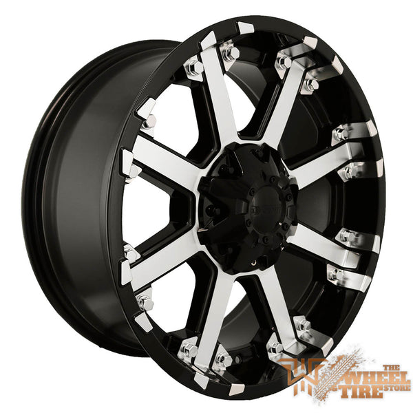DCENTI DW3 Wheel in Black Machined (Set of 4)