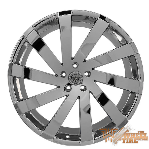 GIMA 6ARC 'Nexus 10' Wheel in Chrome Machined (Set of 4)