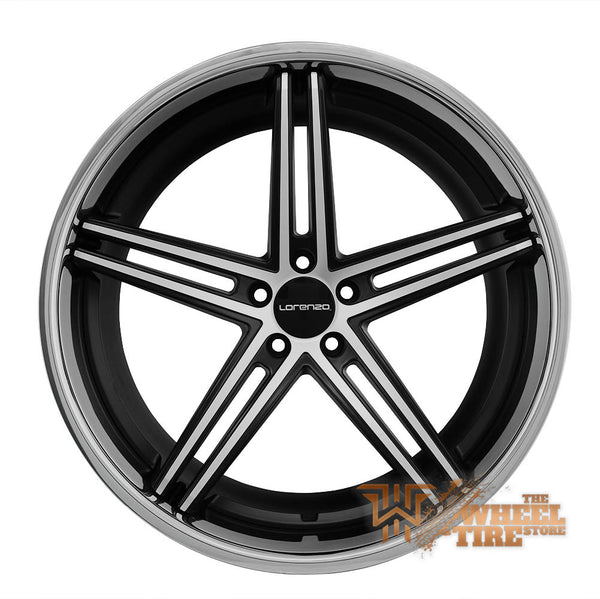 LORENZO WL197 Wheel in Satin Black Machined (Set of 4)