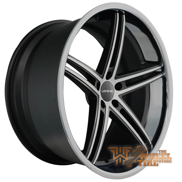LORENZO WL197 Wheel in Satin Black Machined