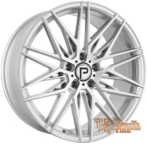 Pinnacle P210 'Majestic' Wheel in Silver Machined (Set of 4)