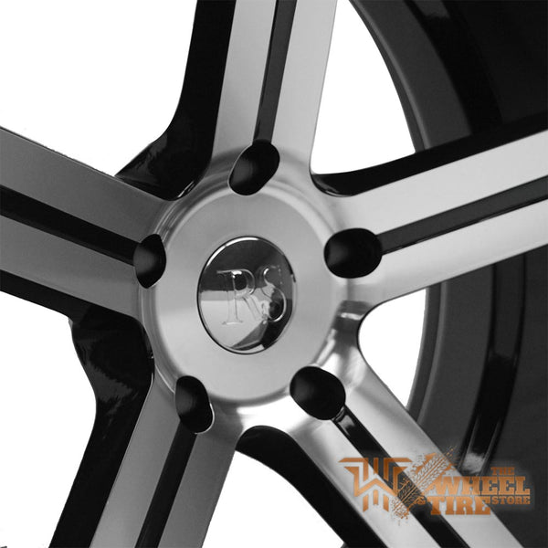 RED SPORT RSW100 Wheel in Gloss Black w/ Machined Face