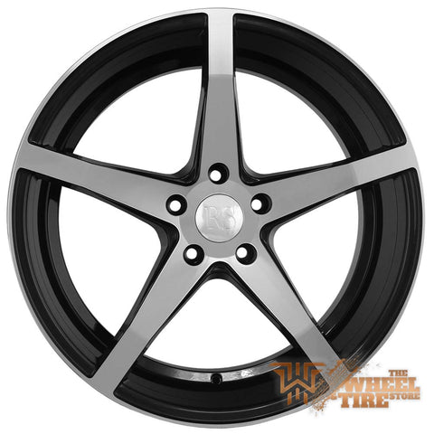 RED SPORT RSW105 Wheel in Gloss Black Machined (Set of 4)