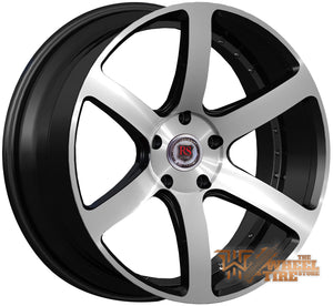 RED SPORT RSW115 Wheel in Black Machined (Set of 4)