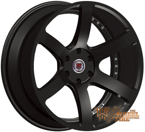 RED SPORT RSW115 Wheel in Gloss Black (Set of 4)