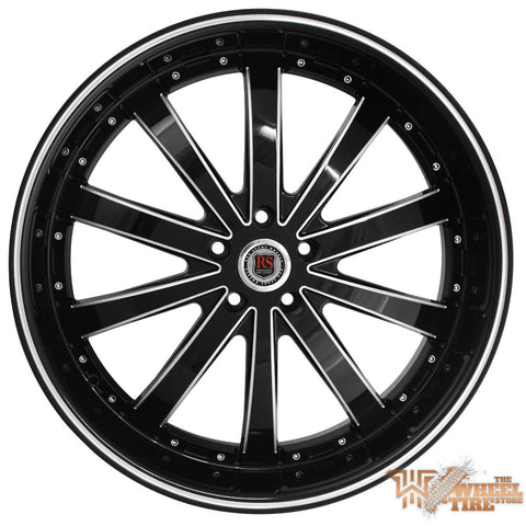 RED SPORT RSW77 Wheel in Black Milled (Set of 4)