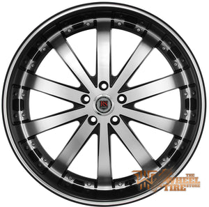 RED SPORT RSW77 Wheel in Gloss Black Machined (Set of 4)
