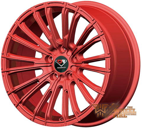 DCENTI Racing DCTL006 Wheel in Red (Set of 4)