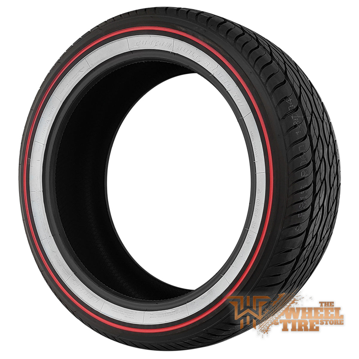 Vogue Classic White w/ RED Line - Limited 105th Anniversary Edition - 285/45R22 - Set of (4)
