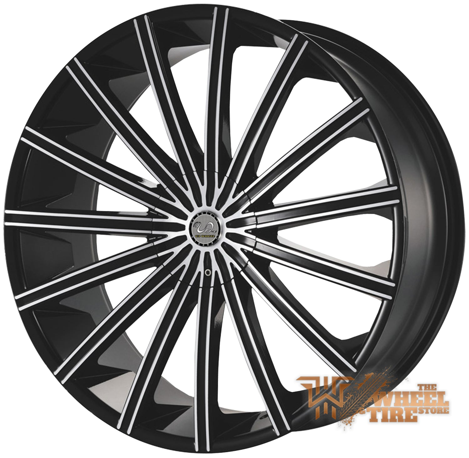 U2 U2-16 Wheel in Black Milled (Set of 4)