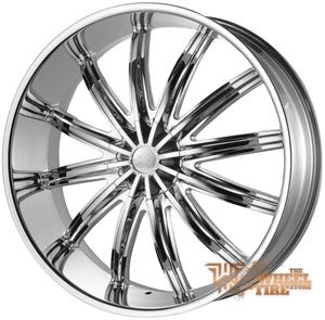 U2 U2-28 Wheel in Chrome