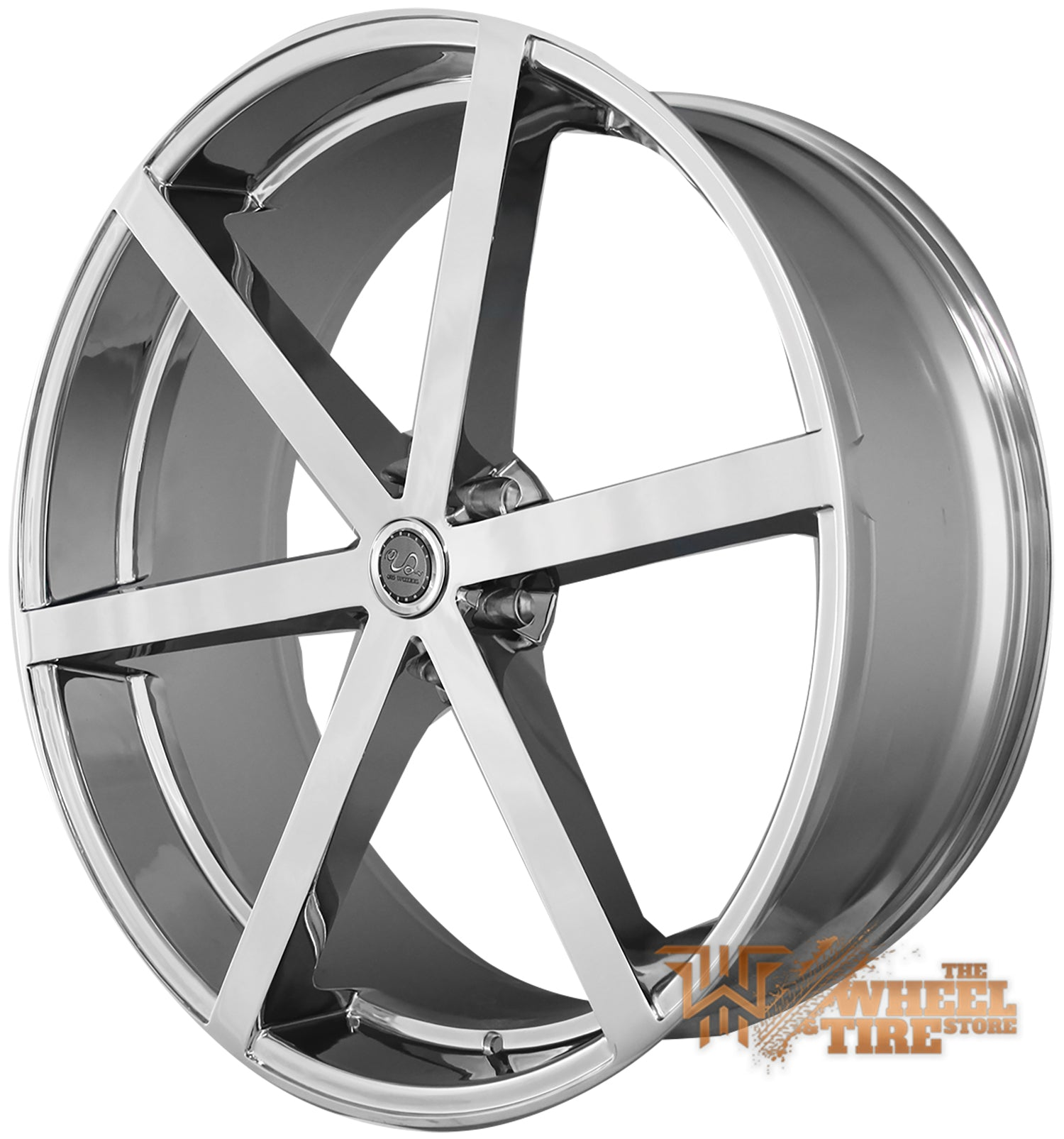 U2 U2-33 Wheel in Chrome (Set of 4)