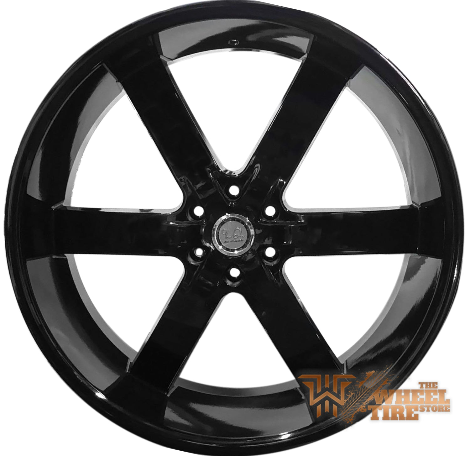 U2 U2-55 Wheel in Gloss Black