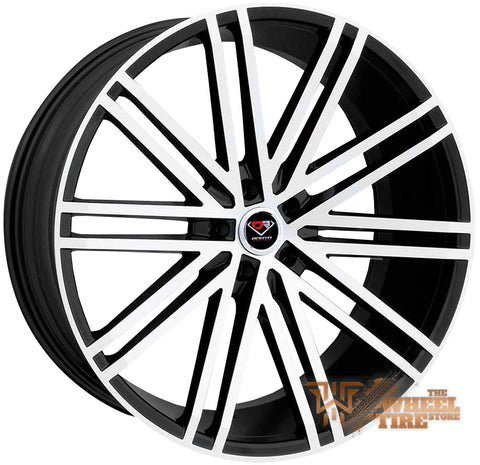 DCENTI Racing DCTL010 Wheel in Black Machined (Set of 4)