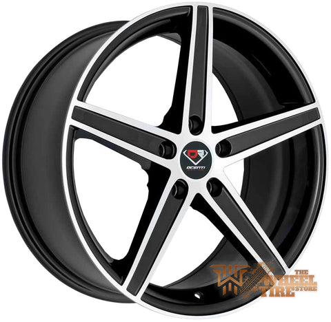 DCENTI Racing DCTL011 Wheel in Black Machined (Set of 4)