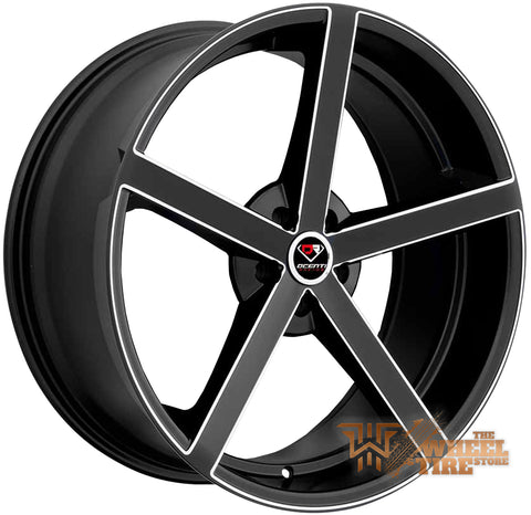 DCENTI Racing DCTL009 Wheel in Black Milled (Set of 4)