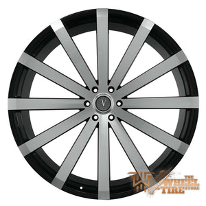 VELOCITY VW12 Wheel in Gloss Black Machined (Set of 4)