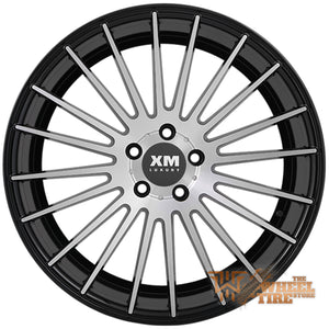 XM LUXURY XM-201 Wheel in Black Machined Face (Set of 4)