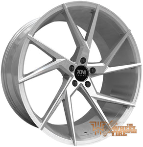 XM LUXURY XM-207 Wheel in Silver Machined (Set of 4)