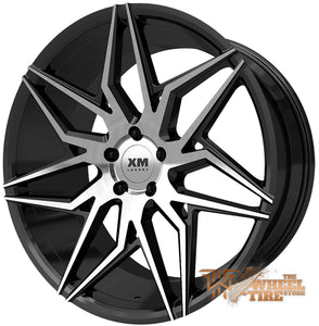 XM LUXURY XM-205 Wheel in Black Machined Face