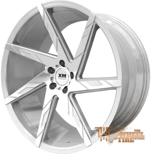 XM LUXURY XM-206 Wheel in Silver Machined Face (Set of 4)