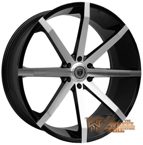 BORGHINI B29 Wheel in Black Machined (Set of 4)