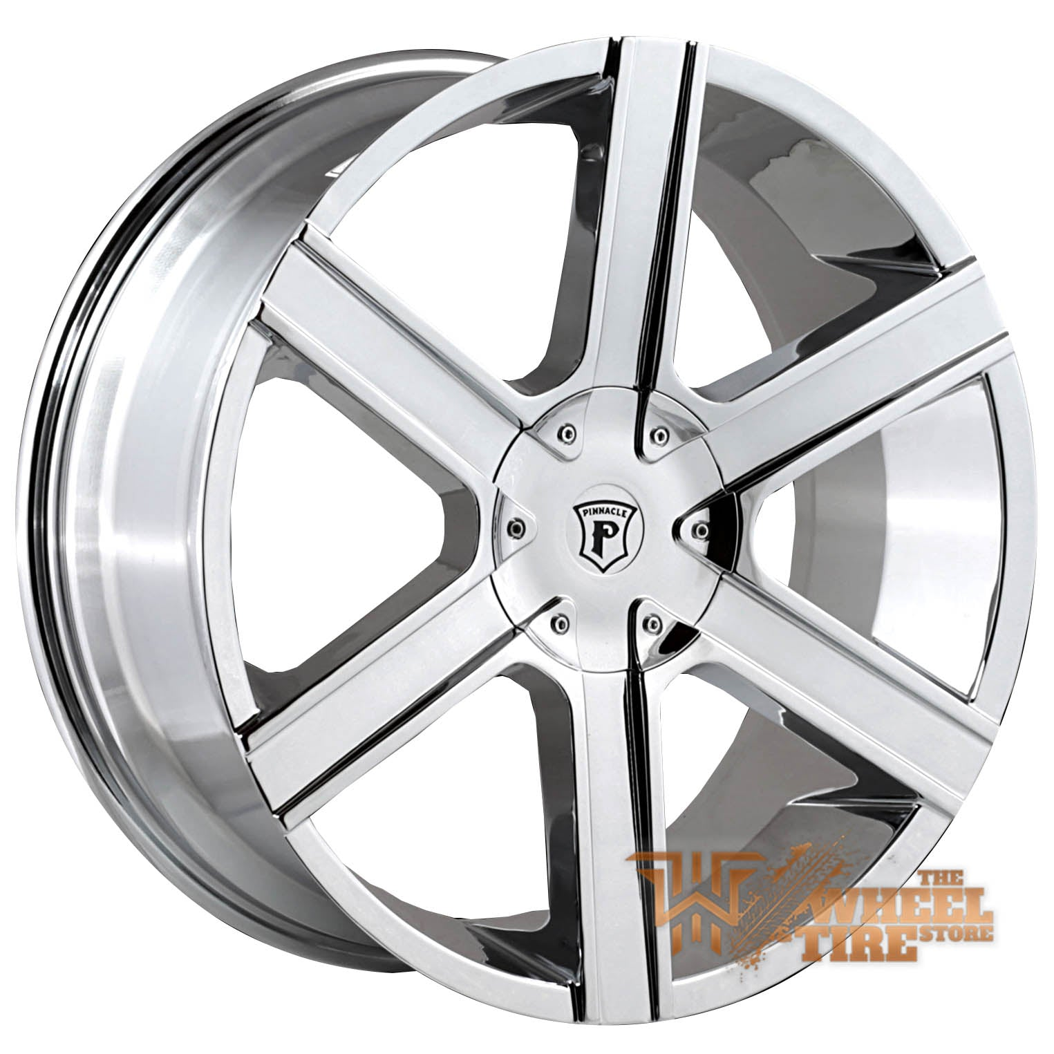Pinnacle P92 'Gallant' Wheel in Chrome (Set of 4)