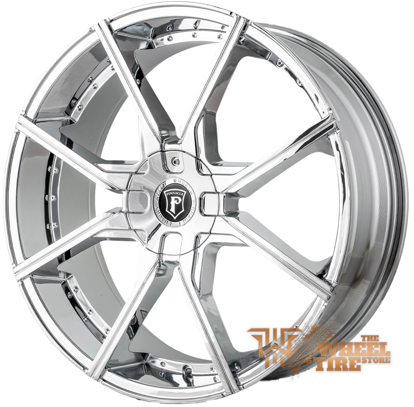 Pinnacle P96 'Hype' Wheel in Chrome (Set of 4)