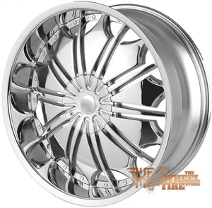 BORGHINI B706 Wheel in Chrome (Set of 4)