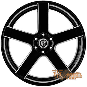 Pinnacle P102 'Magnum' Wheel in Gloss Black Milled