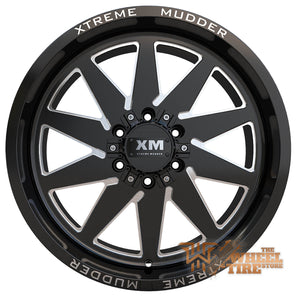 XTREME MUDDER XM-348 Wheel in Gloss Black Milled (Set of 4)
