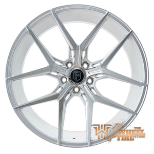 Pinnacle P204 'Splendent' Wheel in Silver Machined Face (Set of 4)