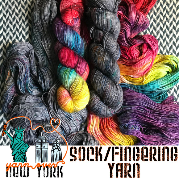 Sock and Fingering Weight Yarn