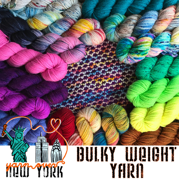 Bulky Weight Yarn