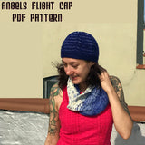 Angels Flight Cap Pattern -- digital download (sport weight)
