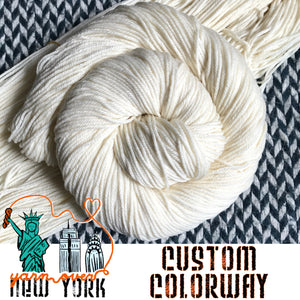 CUSTOM ORDER -- dyed to order yarn