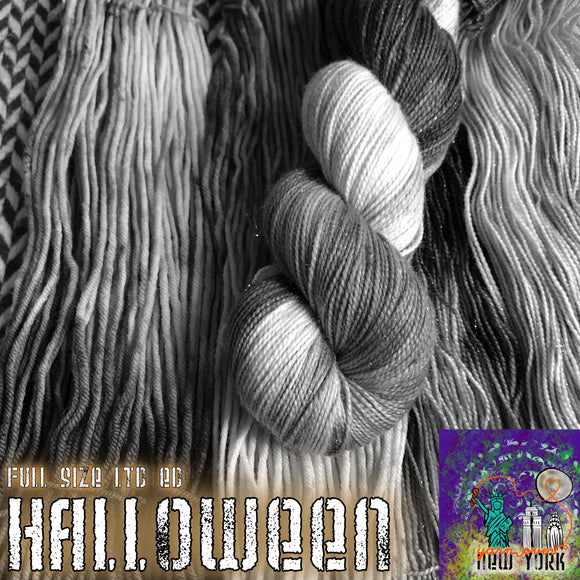 HALLOWEEN 2020 -- Limited Edition -- pre-order hand-dyed yarn